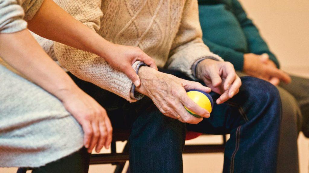Trening med håndartrose