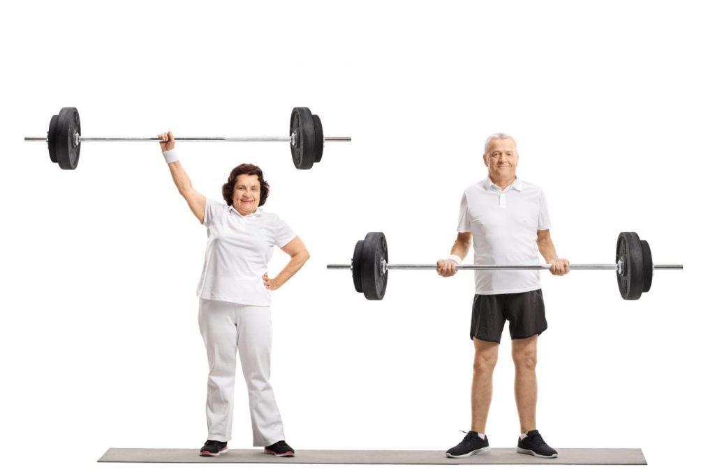 Gruppetrening for pensjonister